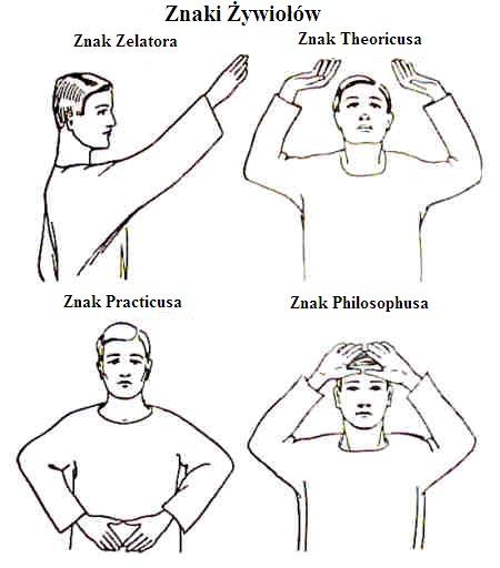 znaki zywiolow